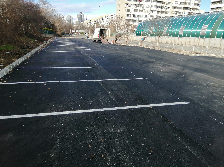 """Трети паркинг, изграден от район """"Студентски'"""